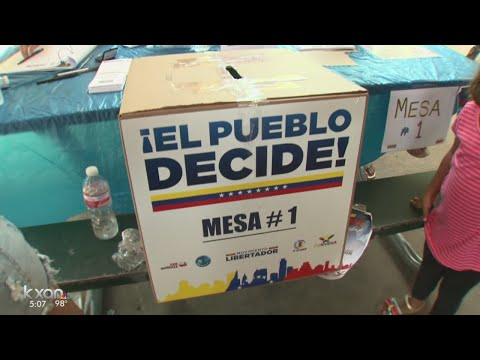 Venezuelans in Austin turn out for non-binding vote