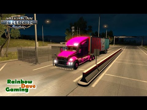 American Truck Simulator | #56 Tucson-San Diego | Pilot Car Moron