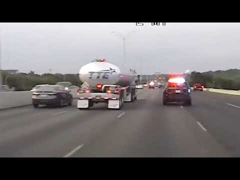 Police Dash Cam Video Machete Wielding Kidnapping Suspect Leads Police On High Speed Chase