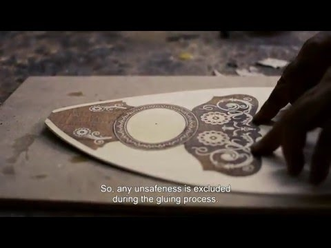 Construction of a six-stringed bouzouki - D. Mourtzinos version (Part II - HD) En Subs
