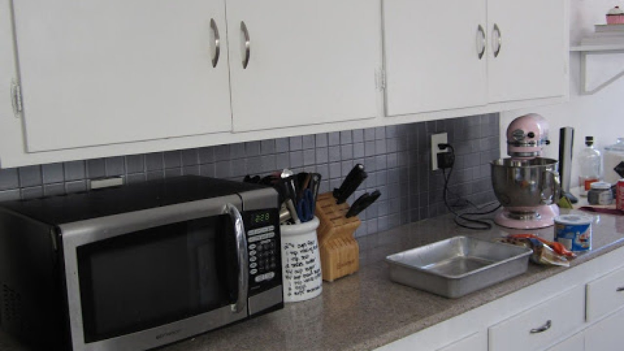 paint a kitchen tile backsplash - diy home - guidecentral - youtube