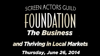 The Business: Actors Living and Thriving in Local Markets