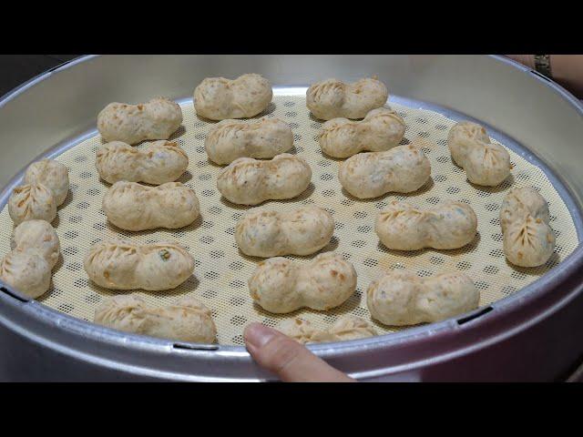 우도 땅콩만두 / Peanut dumplings - korean street food