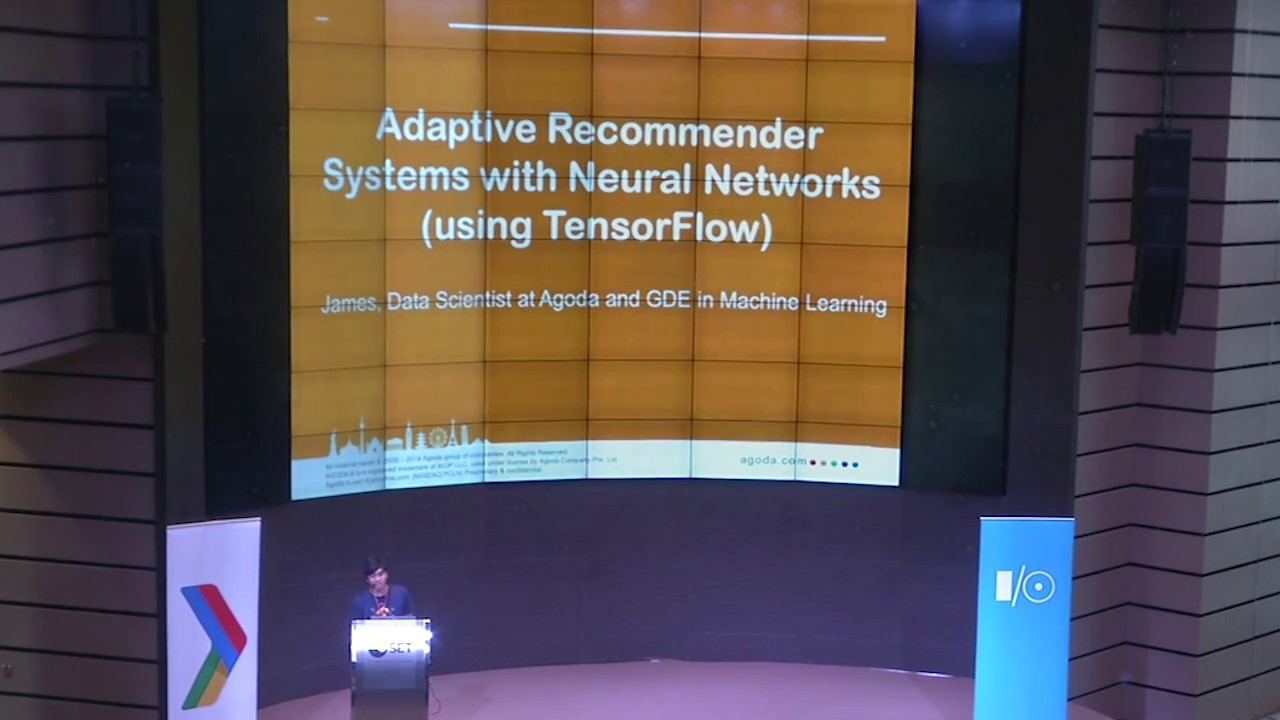 Recommender systems with TensorFlow (Google I/O Extended Bangkok 2017)