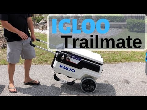 Igloo Trailmate Cooler Review -70 Quart Rolling Cooler