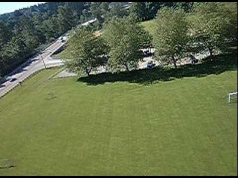 Sailplane Flying Over Twin Rivers Park, Arlington, WA
