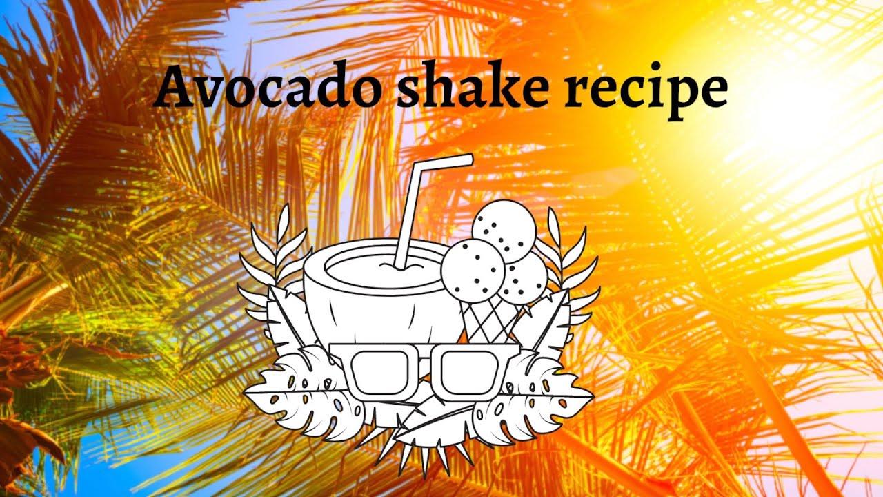 Avocado Shake | Filipino Recipe | Whale Shark - Watching in Oslob, Philippines