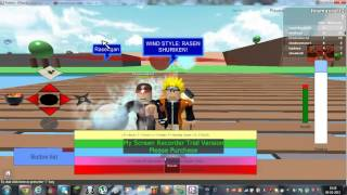 Roblox Naruto shippuden ultimate ninja storm 3 with lava,shadow, and icy 2/3