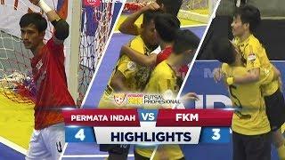 TERBAIK! Permata Indah VS Futsal Kota Metro(4-3) - Highlights ExtraJoss Shake Futsal Profesional