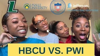 HBCU vs PWI | Howard University, Loyola Maryland, La Salle University, Jefferson University