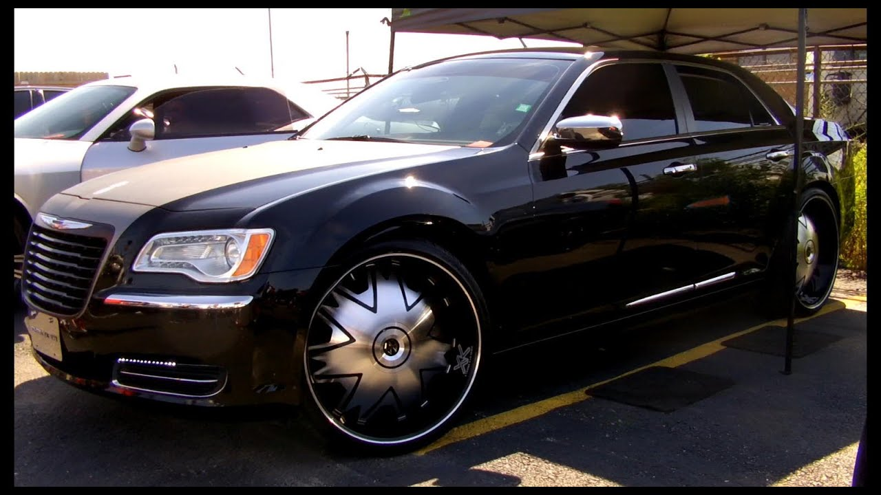 Outrageous 2012 Chrysler 300 On 24 S Youtube