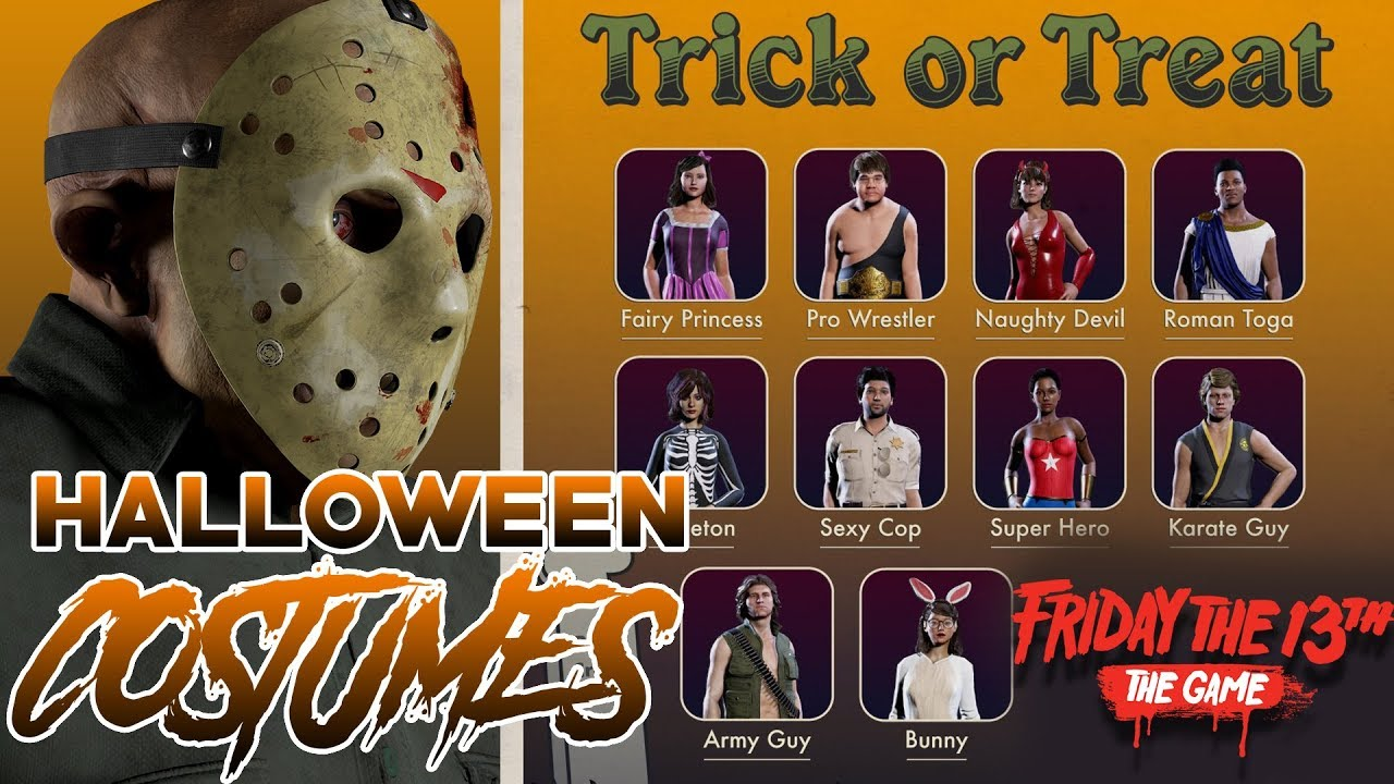 Counselor HALLOWEEN COSTUMES Revealed!! | Friday the 13th: The ...
