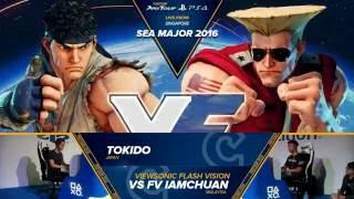 sfv tokido vs vs fv   iamchuan seam 2016 top 8 winners cpt 2016