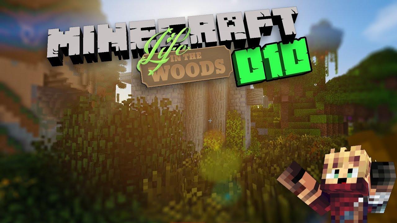 Life In The Woods Geheime Orte Lets Play Minecraft Deutsch - Minecraft geheime hauser
