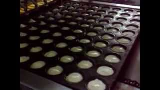 Full automactic cup cake production line