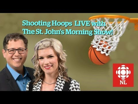 Shooting Hoops with the St. John's Morning Show