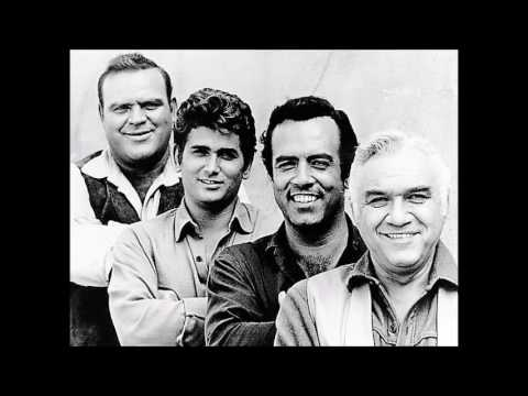 Bonanza Theme Song Music Video (Lorne Greene, Johnny Cash)