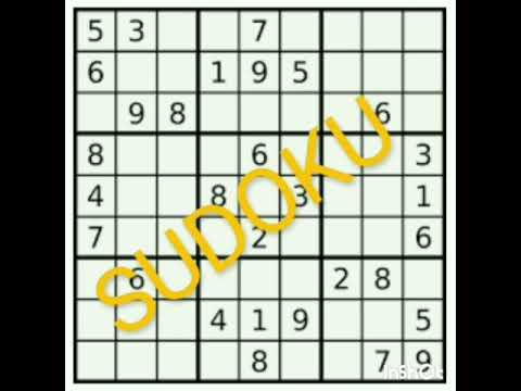 Sudoku Online Gratis Spielen