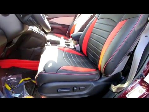 Honda CRV 2015 Seat Covers Review and Installation (sold by Kust)