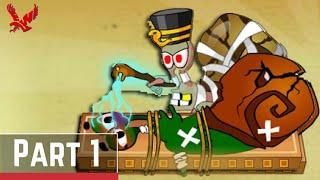 Snail Bob 3 Gameplay [Level 1 - 15] Part 1 - Snail Bob 3: Egypt Journey Walkthrough Series