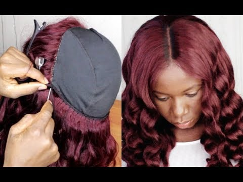 SECRETS REVEALED!! HOW TO MAKE A FRONTAL WIG FOR BEGINNERS  NO GEL, NO GLUE FT wiggins hair
