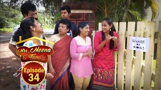 Mrs. Meena & Family - Konkani Serial│Episode 34│Daijiworld Television