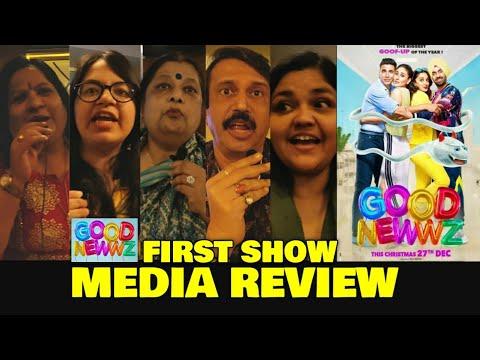 Good Newwz Movie MEDIA REVIEW | First Show | Akshay Kumar, Kareena, Kiara, Diljit | Filmi Fever