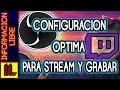 ★Como【CONFIGURAR OBS STUDIO✔】-STREMEAR Y GRABAR PANTALLA✔ Sin Lag- Pc e Internet Lento