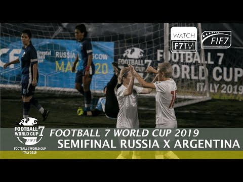 Russia Vs Argentina - Football 7 World Cup 2019 - Semifinal (Women)