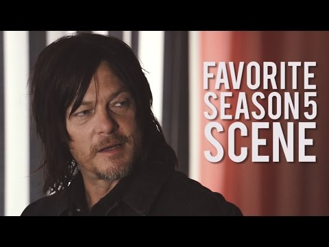 Norman Reedus' Favorite Scene From 'The Walking Dead' Season 5