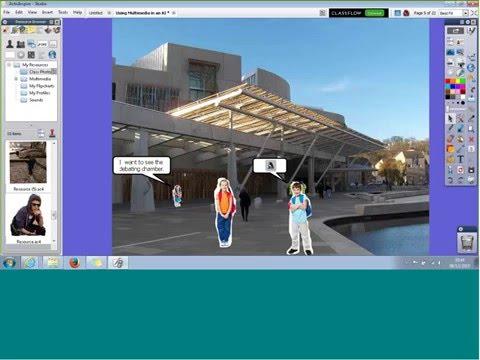Using Multimedia in an ActivInspire flipchart 20151208 1629 1