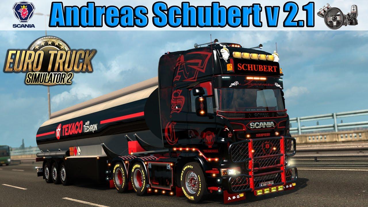 Ets2 Scania Andreas Schubert V 2 1 Youtube