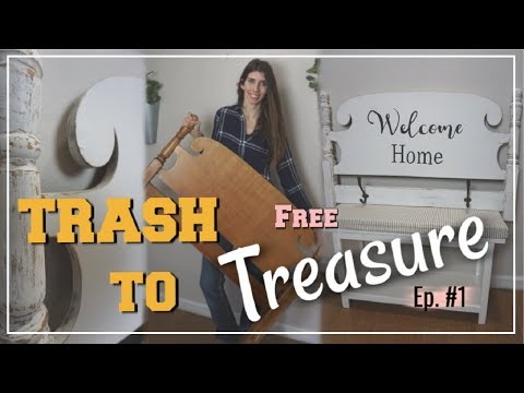 TRASH TO TREASURE UPCYCLE MAKEOVER | DIY Farmhouse Decor | Momma From Scratch