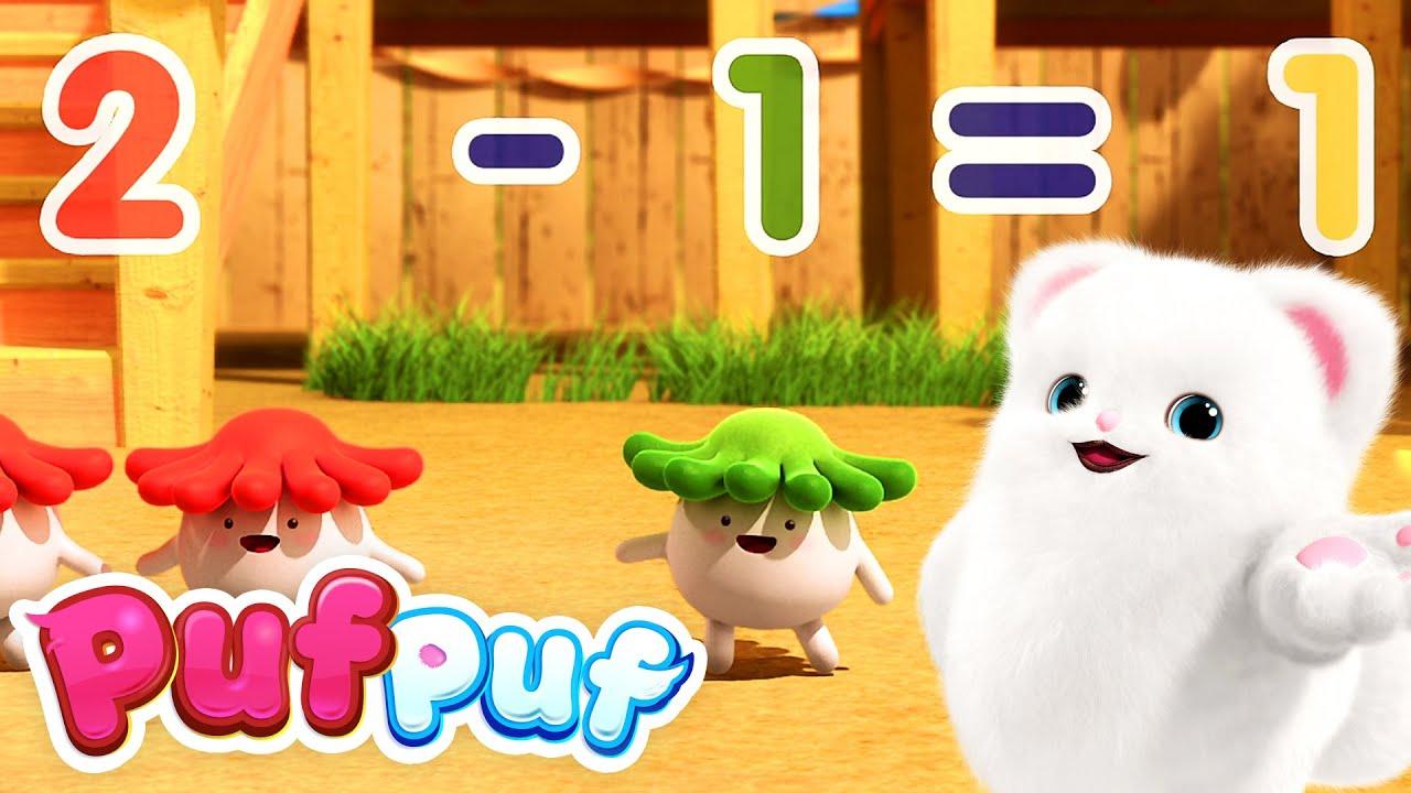 Ne jucăm cu cifrele - Cântece educative pentru copii de grădiniță Puf Puf