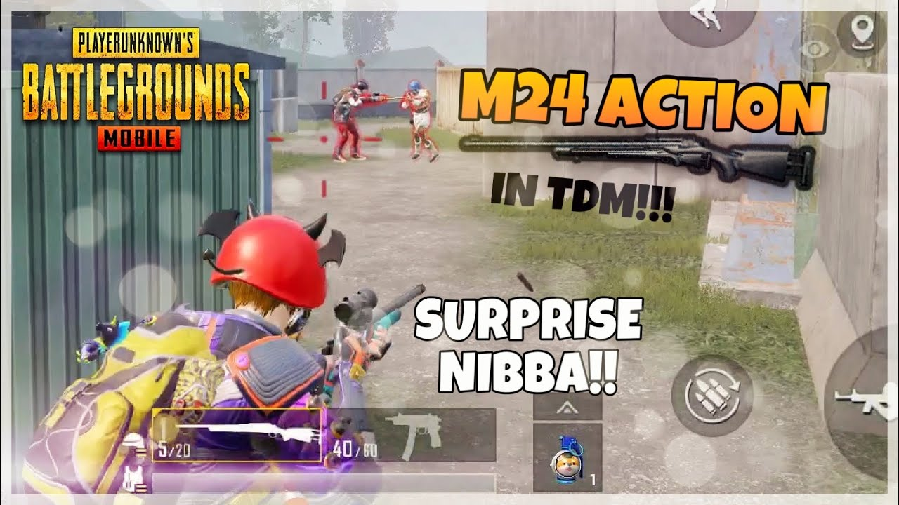 PUBG MOBILE M24 Only TDM Fun😍 - YouTube