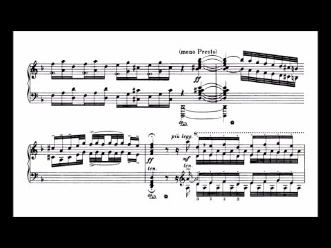 Bach-Busoni - Toccata and Fugue in D minor (piano solo version)