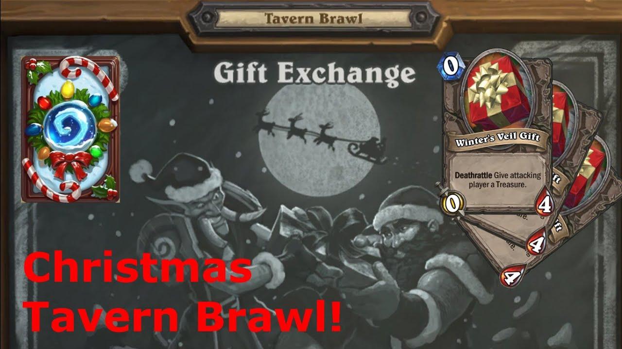 Hearthstone Christmas Tavern Brawl - Gift Exchange (Hunter ...