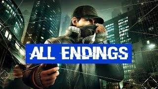 Watch Dogs All Endings 1080p HD