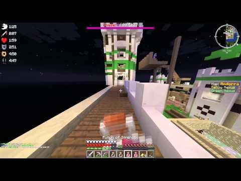 Minecraft Annihilation - Strength Rush #12 ft. Anticheat [PlanB]