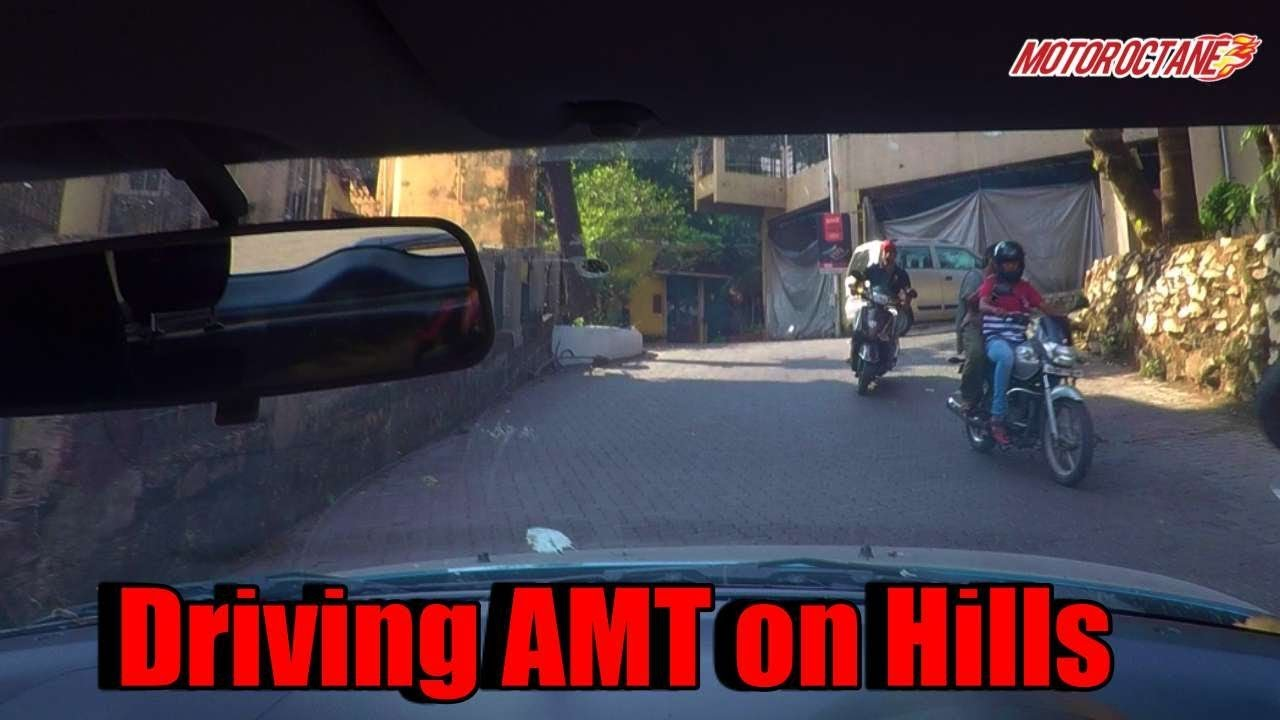 AMT car on hill - Can it climb? - in Hindi | MotorOctane