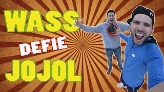 Wass défie Jojol au FREESTYLE FOOTBALL