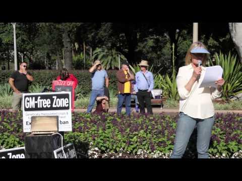 No To Monsanto Rally - Hyde Park, Sydney - 25th May 2013
