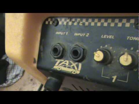 Crate Taxi Amplifier Quick Demo