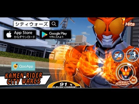 Kamen Rider: City Wars JP Kamen Rider Build Nya Sangat Keren Banget