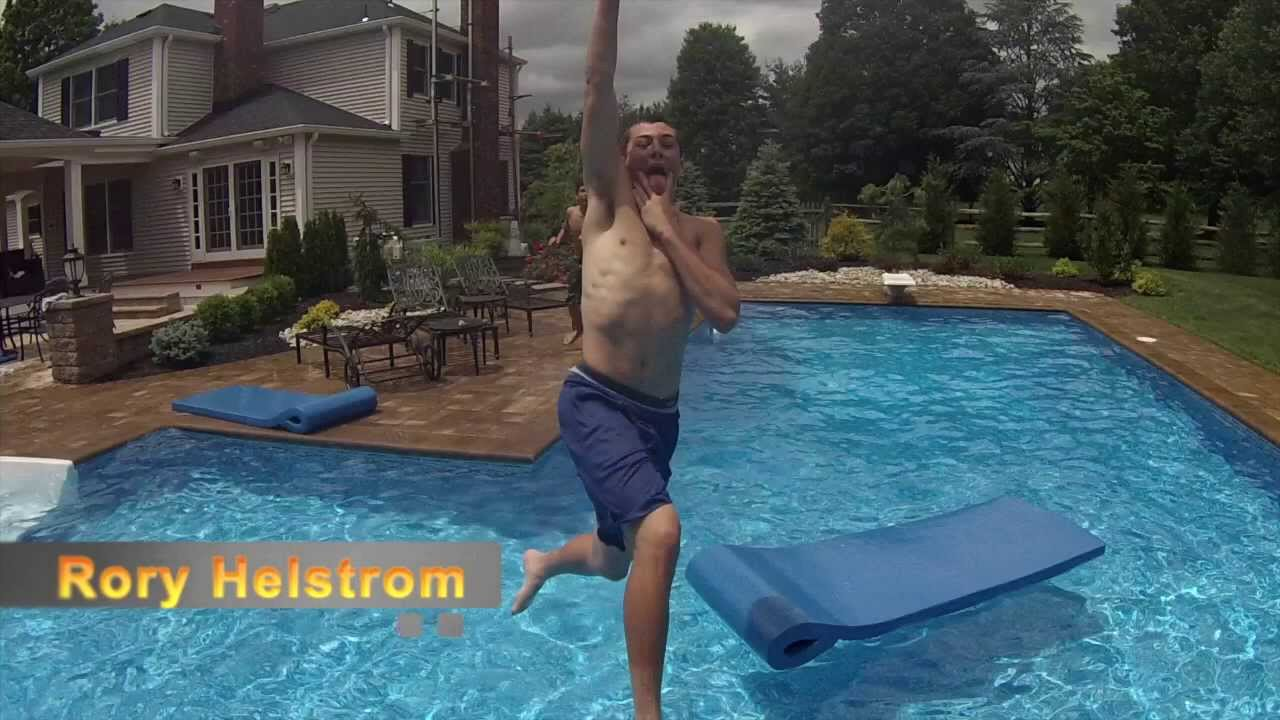 Awesome pool basketball trick shots youtube - Awesome swimming pool trick shots ...