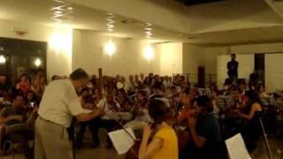 "TOSCA REHEARSE - Chorus, Orchestra and Scarpia ""Te Deum"" 2009"
