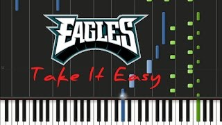 Eagles - Take It Easy [Synthesia Tutorial]