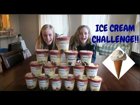 ICE CREAM CHALLENGE!!