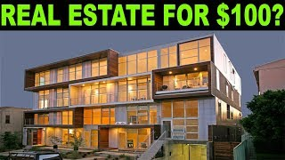 Buying Real Estate for only $100: REITs vs Rental Property