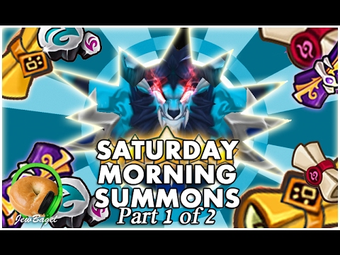 SUMMONERS WAR : Saturday Morning Summons - 500+ Mystical, LD & Legendary Scrolls - (2/4/17 Part One)